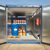 Verfopslag containers