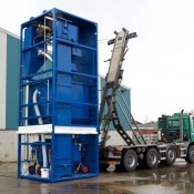 Straalmiddel recycling units