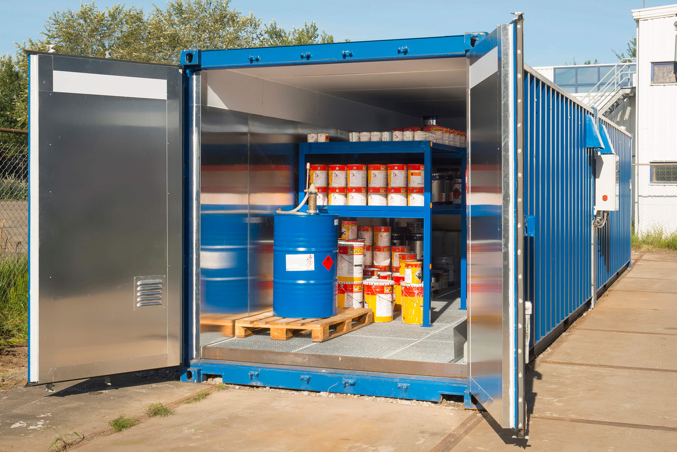 Paint Storage Containers Holland Mineraal